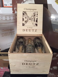 """Cuvée Classic"" Deutz Champagne - 6 bottles in original wooden case"