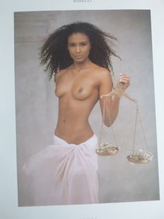 Joyce Tenneson - Pirelli Calendar - 1989 - In original box