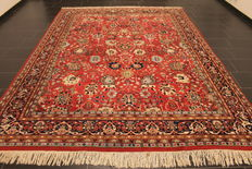 Oriental rug, Indo Tabriz, made in India at the end of the 20th century, 200 x 310 cm