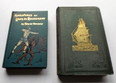 Lot with 2 Volumes - Sea Travel & Adventure - 1840/1899.