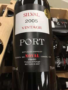 "2005 Quinta do Noval ""Silval"" Vintage Port - 36 bottles in 3 Orignal Wooden Cases ( 3 x 12 Bottles )"