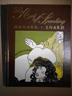 Manara, Milo - The Art of Spanking - HC - EO - Limited edition of 500 signed and numbered copies