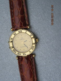 Omega Constellation - Women's watch - 18 kt Gold from 1987