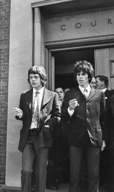 Roy Cummings/Associated Newspapers - Mike Jagger & Keith Richards - 1967