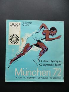 Panini Munich 72 - Olympic Games 1972 - Complete album - In good condition.