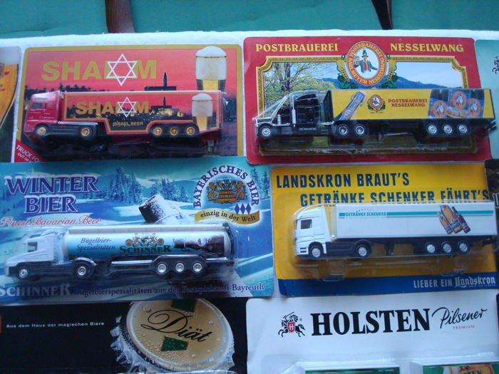 Collection - Brewery trucks and promotional trucks, in original ...