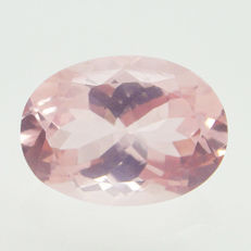 Rose quartz - 11.61 ct - No reserve