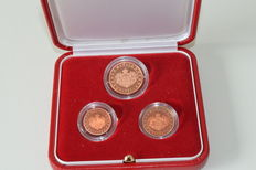Monaco – Year collection with 1, 2 and 5 Eurocent 2005
