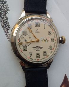 Omega Olympic Games Berlin 1936 Swiss marriage watch.