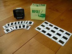 Photografica; Nipole Slide Viewer with 30 hot slides-ca 1970