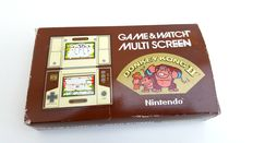Nintendo Game and Watch - Donkey Kong 2 - in original box