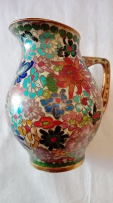 Bellissima anfora in cloisonne Cina prima Amphora beautiful cloisonne China first half of the 20th century dei 20 secolo