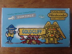 Nintendo Game & Watch - Gold Cliff Boxed, with battery cover