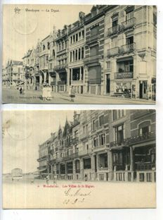 Belgique Belgium Flanders Coastal towns and villages 1899-1930; 100 x