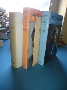 4 volumes about Virginia Woolf - 1952 / 1972