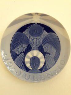 Royal Copenhagen - Christmas plate 1910