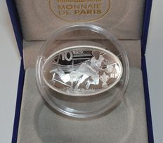 France – 10 Euro 2015 'Rugby World Cup' – silver