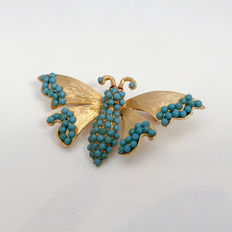 Ledo butterfly brooch New York 1961