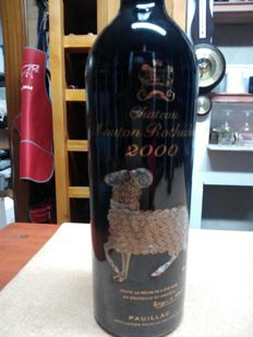 2000 Chateau Mouton Rothschild - 1 bottle (75cl)