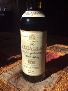 The Macallan 1976 18 years old - Sherry wood