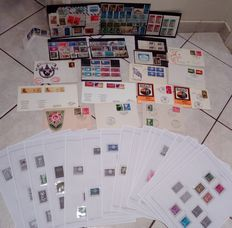 Europa CEPT 1958-1998 - Collection Of stamps, first day covers and miniature sheets