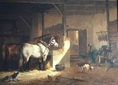 T. Reijmers (20th century) - horse stable