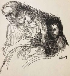 Käthe Kollwitz (1867-1945) - Woman with children