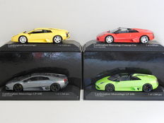Minichamps - Scale 1/43 - Lot with 4 x Lamborghini Murcielago