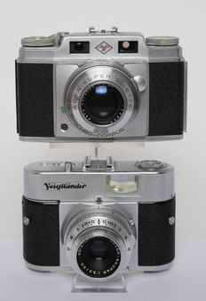 2 classic analogue cameras from 1955 and 1957