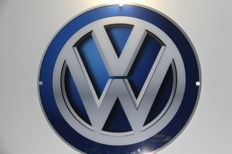 Volkswagen Logo with 80 cm in Plexiglass