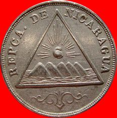 Republic of Nicaragua – 5 cents, 1899