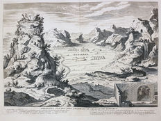 Augustin Calmet? - Image of the Mountain Thabor - ca 1700