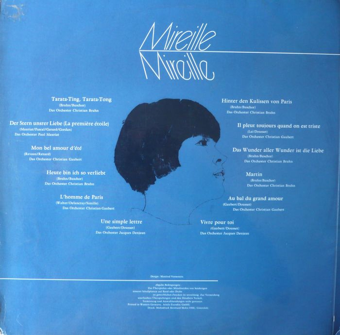 Mireille Mathieu Lot Of 17 Albums And 17 Ep S 7 Singles