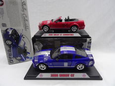 Shelby Collectibles - Scale 1/18 - Lot with 2008 Shelby GT models