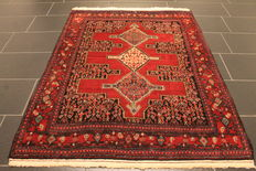 Old hand-knotted Persian carpet - Senneh Bidjar form around 1960 - Made in Iran (Persian) - 120 x 160 cm carpet Tappeto Tapis Tapijt