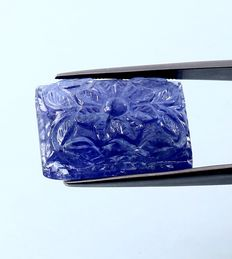 Tanzanite Carving - 28.31 ct