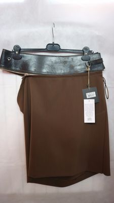 Jean Paul Gaultier – skirt with broad detachable waistband – MADE IN ITALY