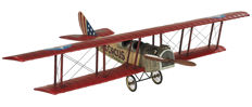 "Authentic Models Jenny AP 400 ""flying circus"""