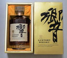 Suntory Hibiki First Edition, very rare old in late 1980s