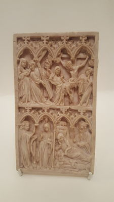 Diptych with scenes of the Nativity, the Crucifixion, and the Last Judgement