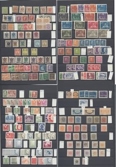 Sweden 1858/1998 - Collection on Stock Pages