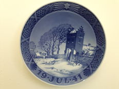Royal Copenhagen - Christmas plate 1941