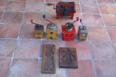 Lot of 7 kitchen objects