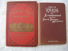 Travel; Lot with two editions about Paris - approx. 1895/1900
