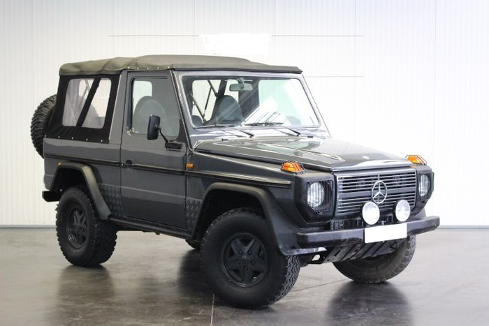 Mercedes benz g class 230 convertible 1985 catawiki for Mercedes benz g class cabriolet