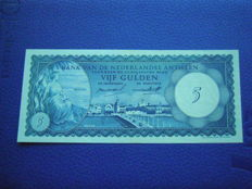 World - 10 banknotes - with better notes like Ned Antillen 5 gulden 1962