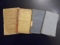 Lot with four 18th and early 19th-century children's books - 1773 / 1818