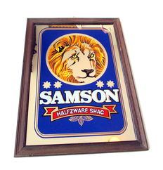 Samson wall mirror - 2nd half of the 20th century.
