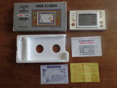 Nintendo Game & Watch - Snoopy Tennis Boxed, complete with instructions and battery cover