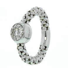 Chimento – ring, white gold with diamonds